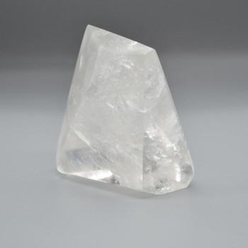 Natural Clear Quartz Freeform / Free Form - 1 Count - approx 9cm x 7cm x 6.5cm - 568 grams