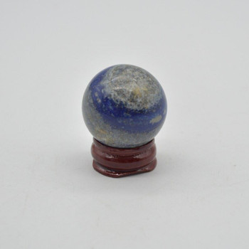 Natural Lapis Lazuli Semi-Precious Gemstone Sphere Ball - 52 grams - 3cm - 1 Count - #03