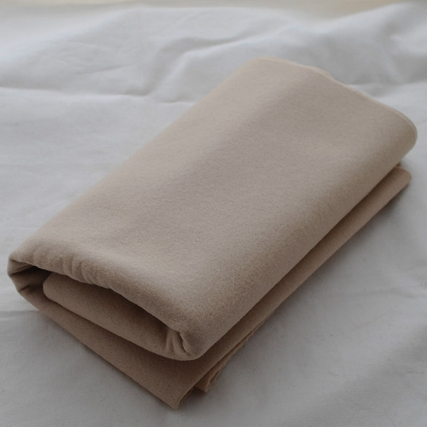 100% Wool Felt Fabric - Approx 1mm Thick - Light Latte - 40cm x 50cm