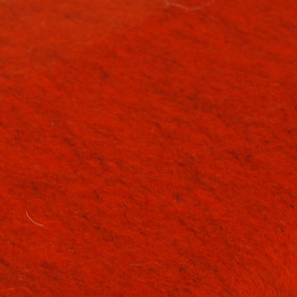 100% Wool Felt Fabric - Approx 1mm Thick - Mottled Orange