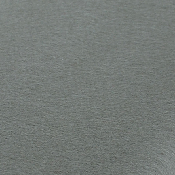 100% Wool Felt Fabric - Approx 1mm Thick - Silver Grey