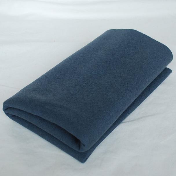 100% Wool Felt Fabric - Approx 1mm Thick - Charcoal Grey - 40cm x 50cm