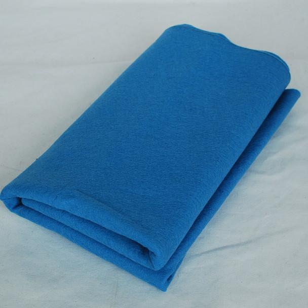 100% Wool Felt Fabric - Approx 1mm Thick - Dark Dusty Blue