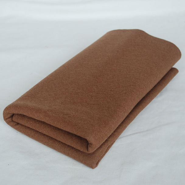 100% Wool Felt Fabric - Approx 1mm Thick - Light Brown