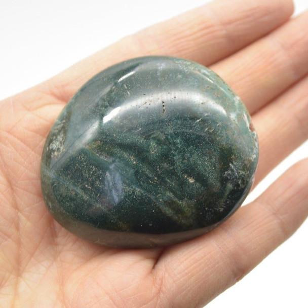 Ocean Jasper Gemstone Palm Stone - 3 Count - 193g - #03