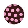 Large Polkadot Baby Pink