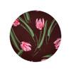 Tulips, Green, Pink & Rose