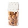 Block Bottom Bag Pkt 12 - 7.5  x  18  cms (with 5cm gusset)