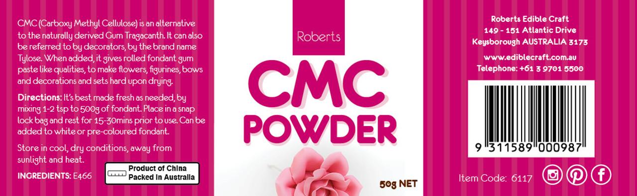50g CMC Powder (White)  - E466