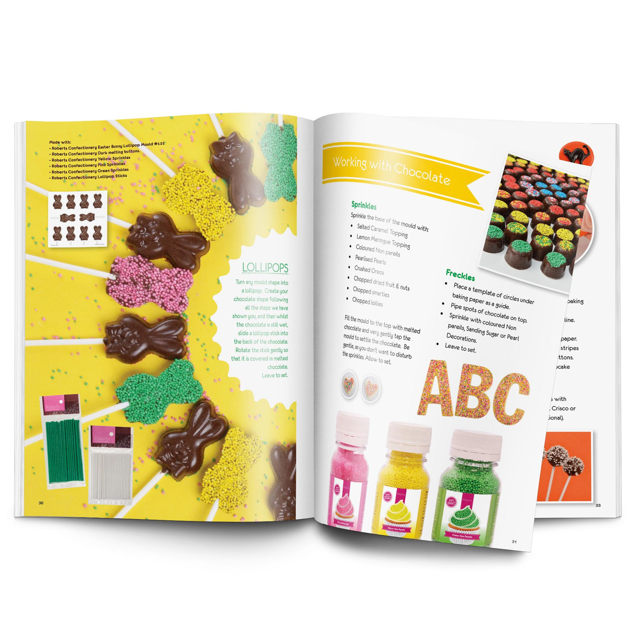 Digital Download - Roberts Chocolate Making  Recipe Book