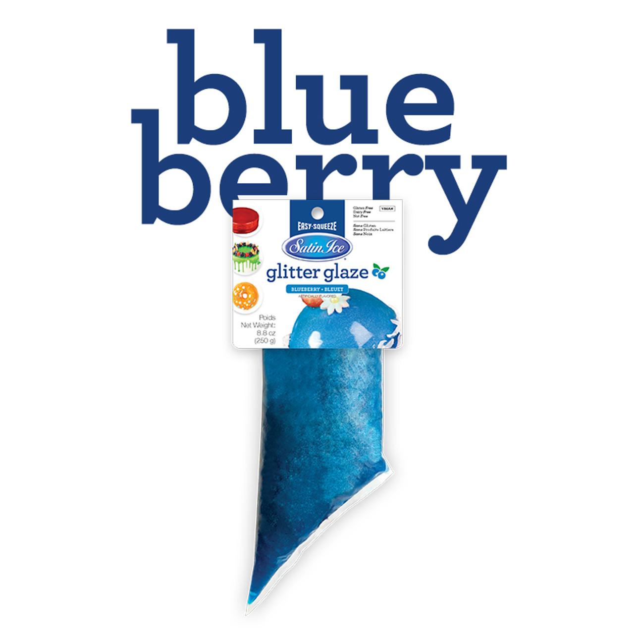 Glitter Glaze 250g Blueberry Blue - BB 10/20