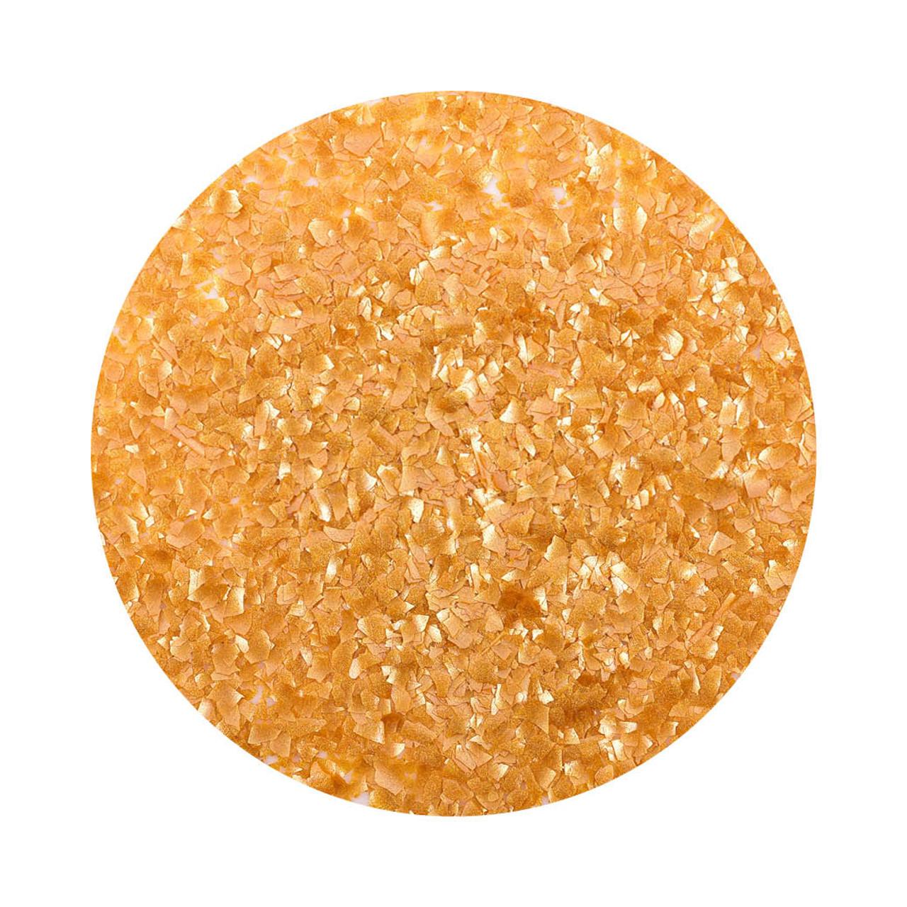 Bulk 200g -  Edible Crafting Glitter - Gold
