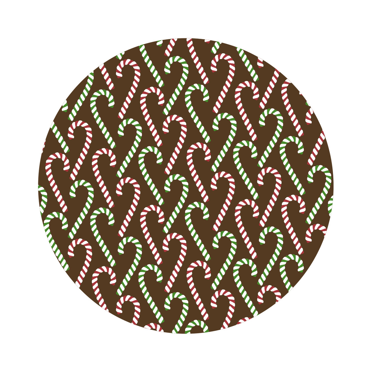 Transfer Sheet Candy Canes   - Red, Green & White