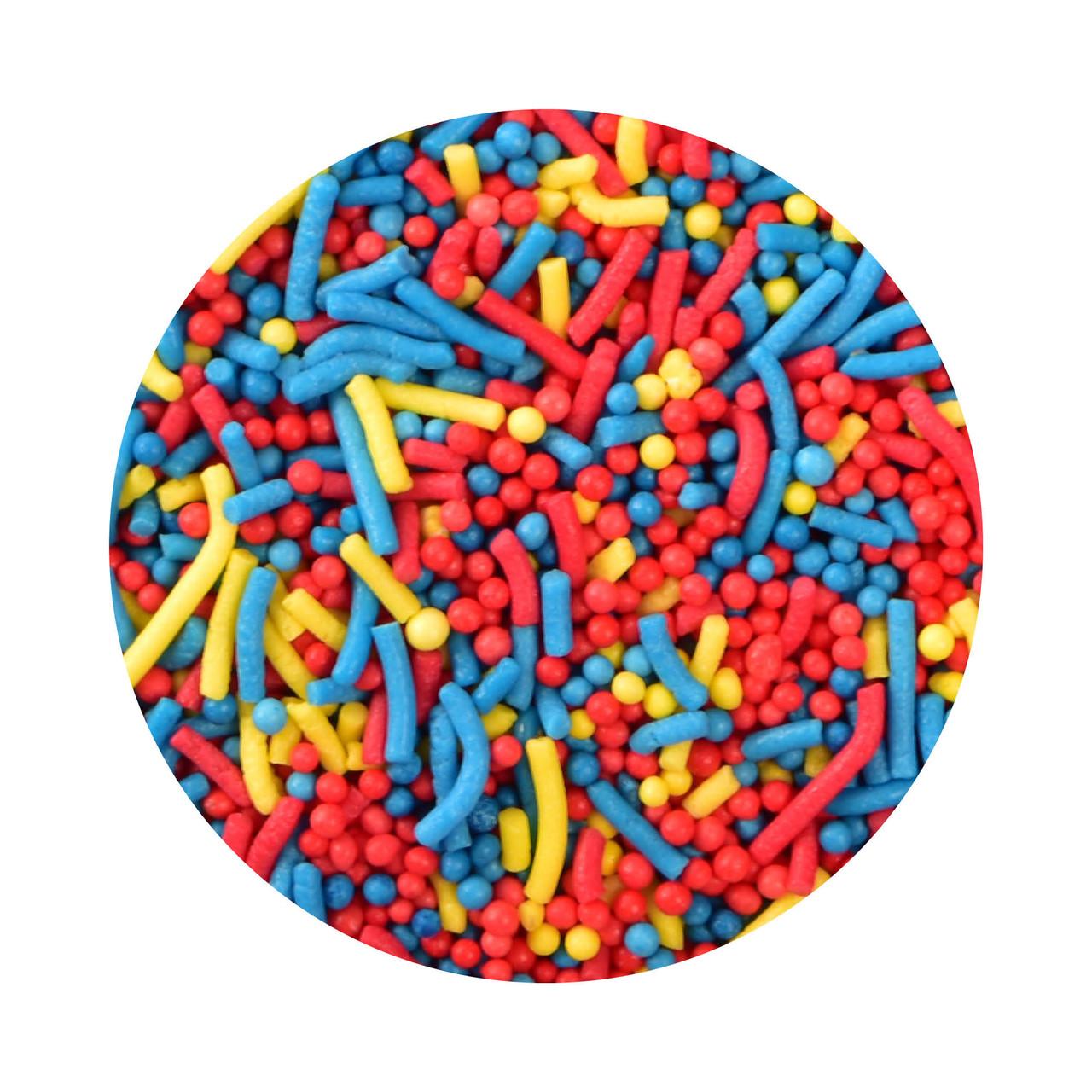 Bulk Superhero Inspired Sprinkle Mix 1kg