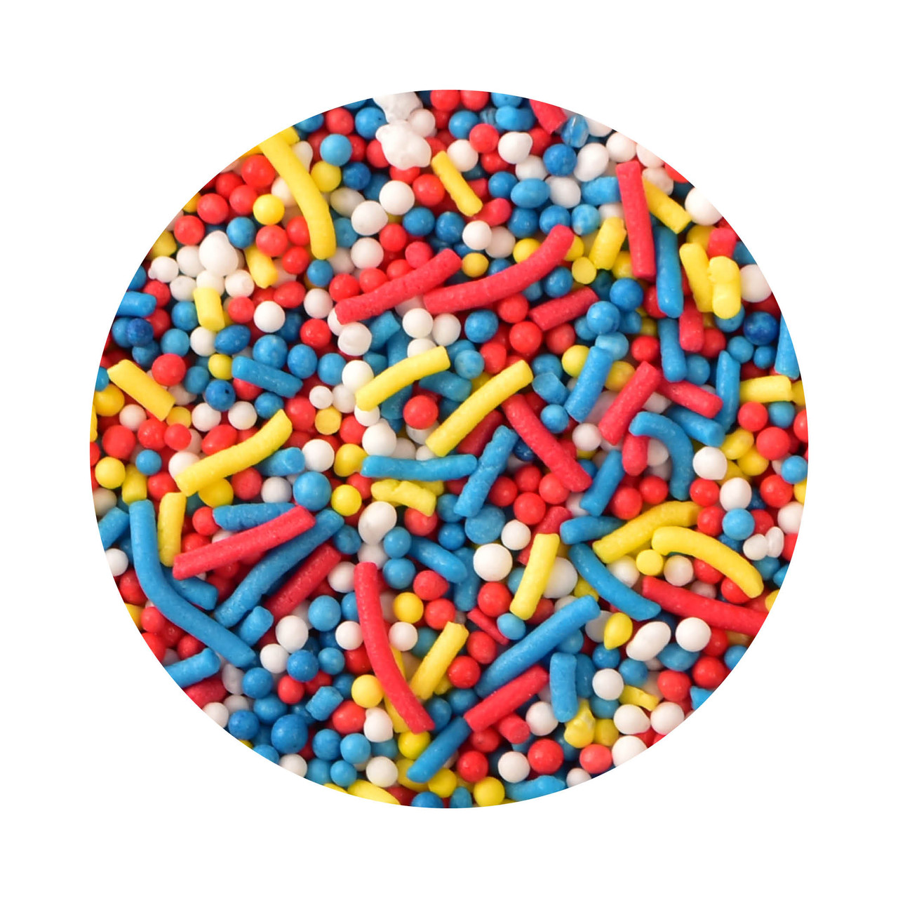 Bulk Paw Patrol Inspired Sprinkle Mix 1kg