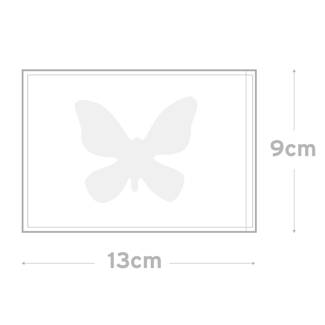 Peel & Seal Bag  Pkt 100 -    9.0 x 13.0 cms