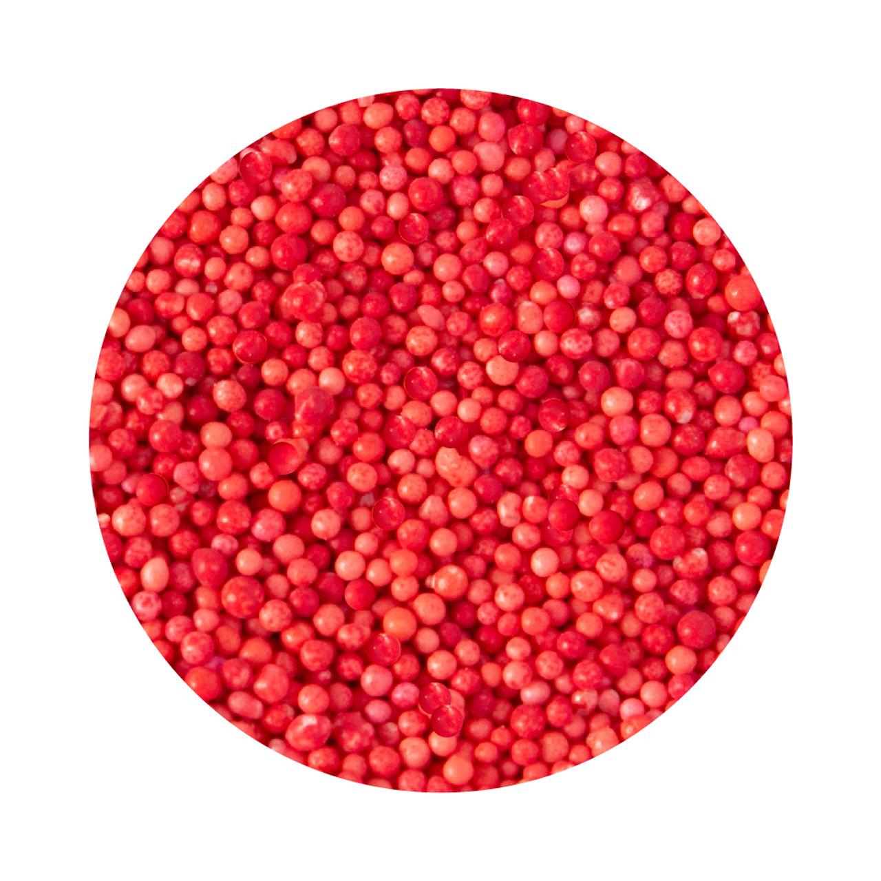 Bulk Natural Non Pareil - Red 1kg