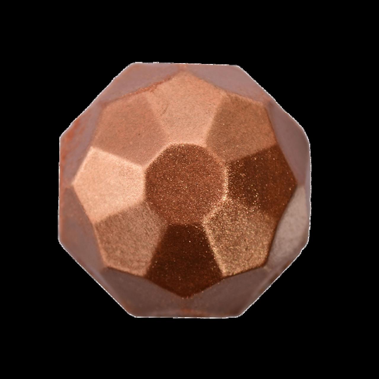 Bronze Polish on chocolate