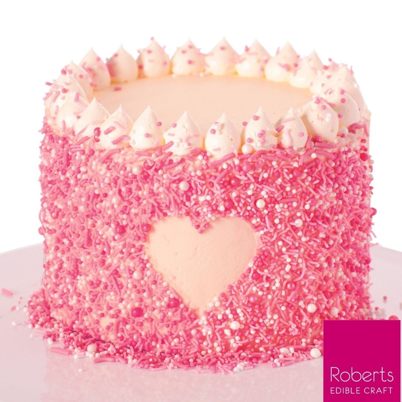 Vanilla Party Cake Kit - Sprinkles Included