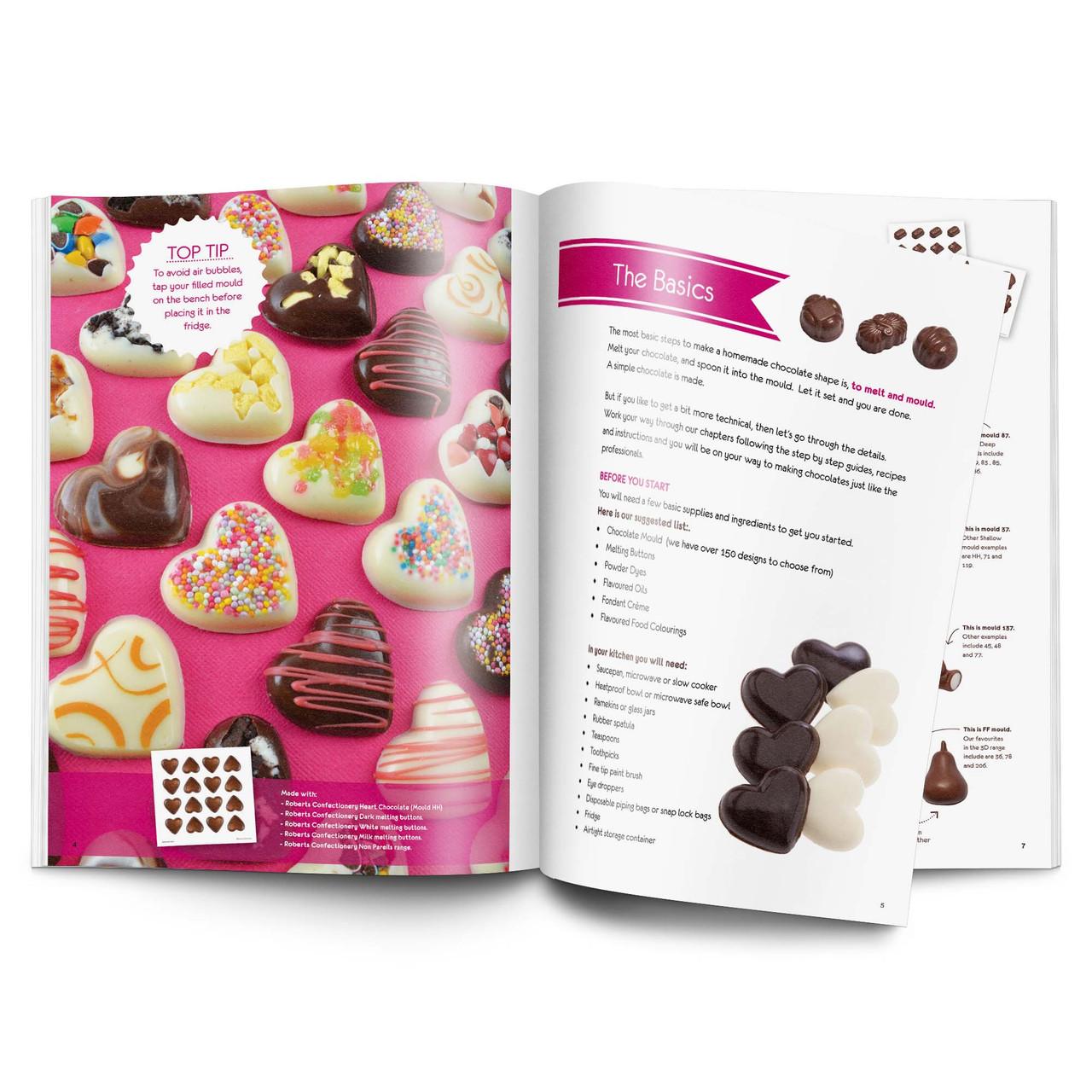 Roberts Chocolate Making  Recipe Book