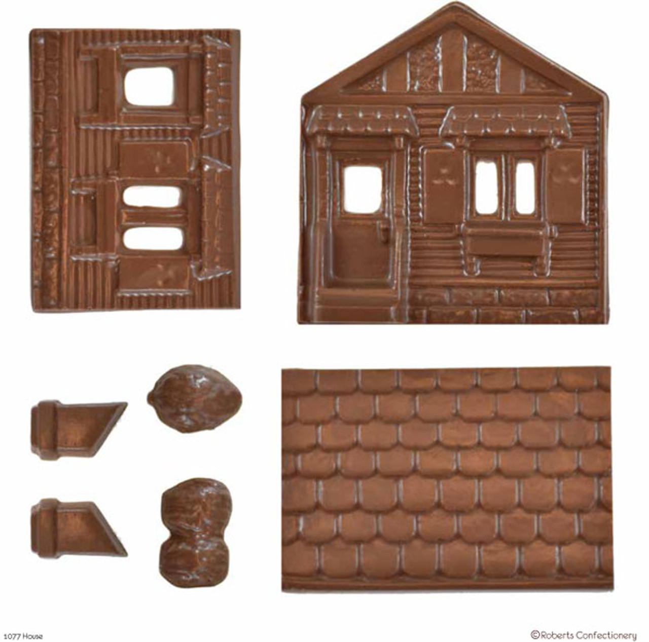 3D Chocolate House - 77
