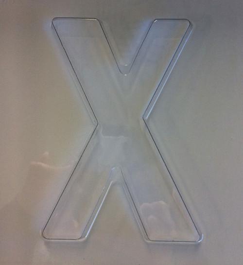 Jumbo Letter Mould X