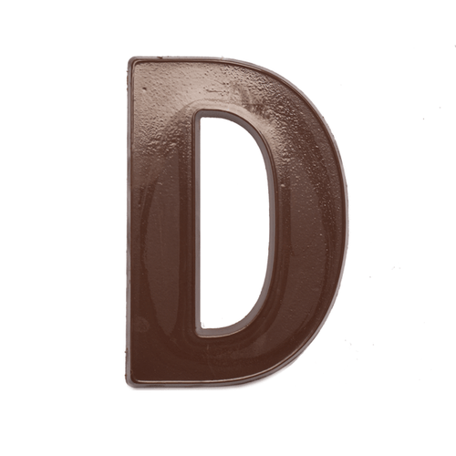 Jumbo Letter Mould D