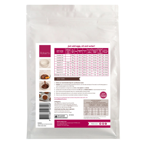 Chocolate Mud Cake Mix 2kg