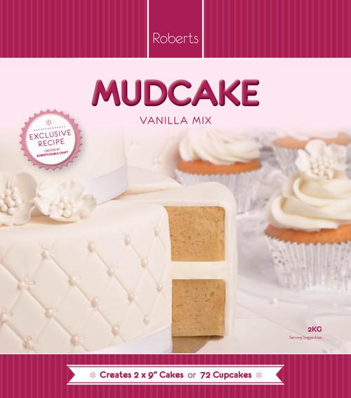 15kg Vanilla Mud Cake Mix BULK