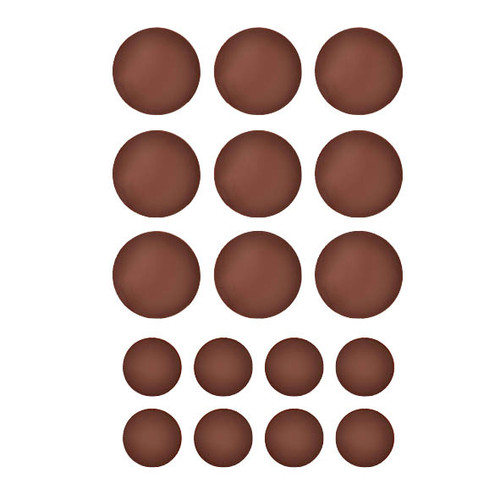 Chocolate Template (Chablon) Circles