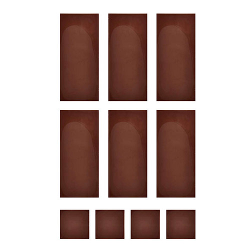 Chocolate Template (Chablon) Rectangle & Square