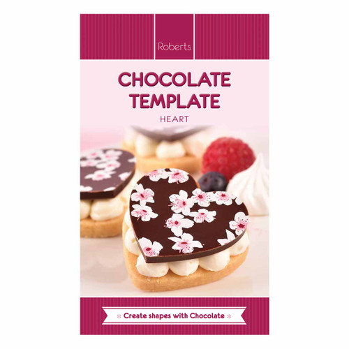 Chocolate Template (Chablon) Hearts