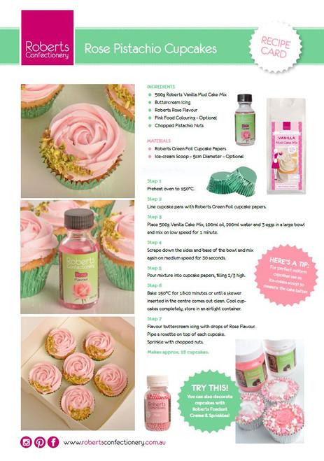 Boredom Buster Set - Rose & Lime Cupcake Set