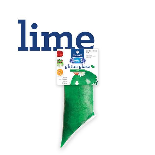 Glitter Glaze 250g Lime Green