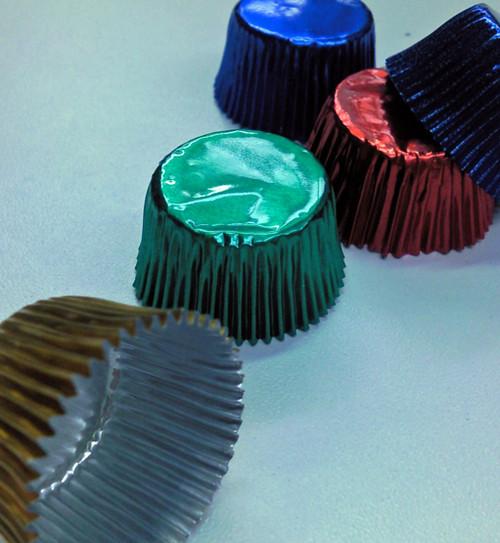 Close up Truffle Cups Foils