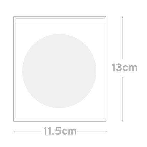 Peel & Seal Bag  Pkt 100 - 11.5 x 13 cm