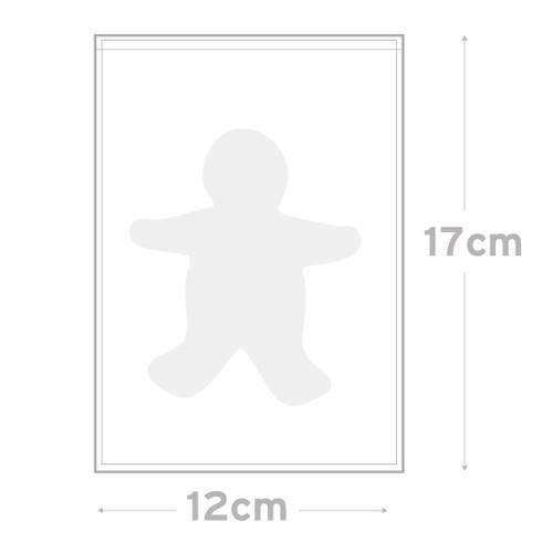 Peel & Seal Bag  Pkt 100 - 12 x 17 cm