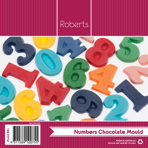 Numbers Mould- 61