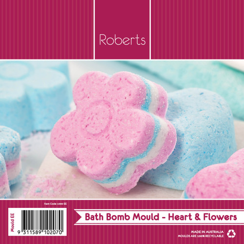 Flowers & Hearts Deep Bath Bomb - EE