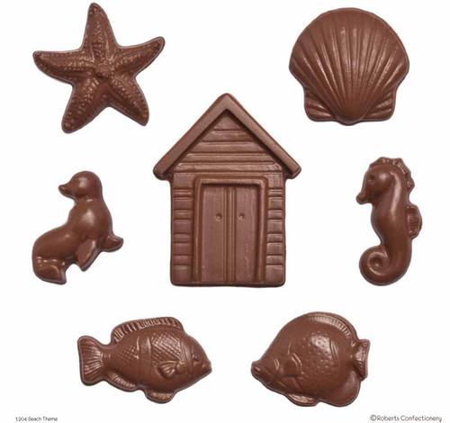 Beach Hut, Clam Shell, Seal, Fish, Seahorse & Starfish - 204