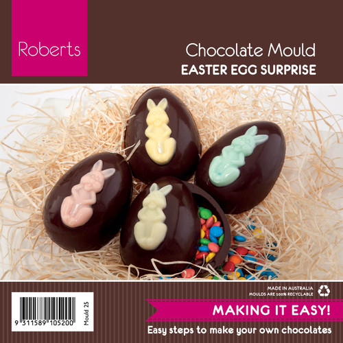 8 cm Easter Egg  Mould - 25