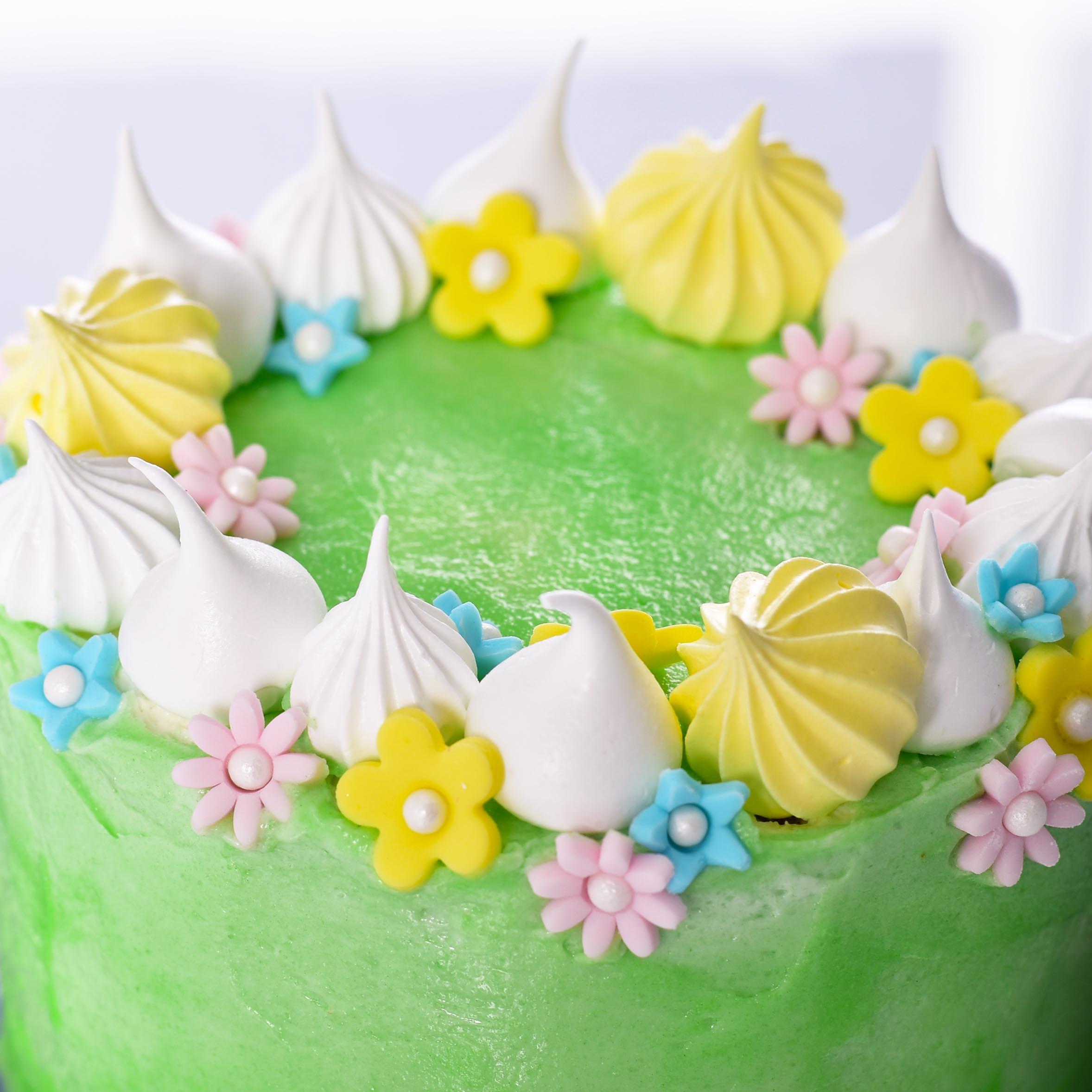 Easter Bunny in the Garden Cake