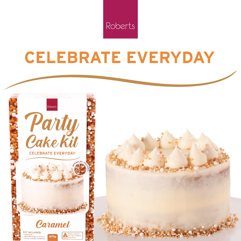 Party Cake Kit - Salted Caramel