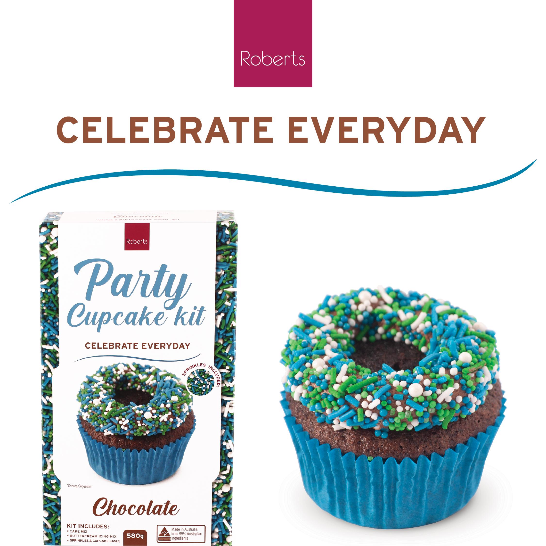 Party Cupcake Kit - Chocolate