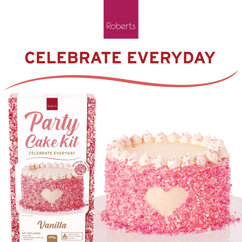 Party Cake Kit - Vanilla