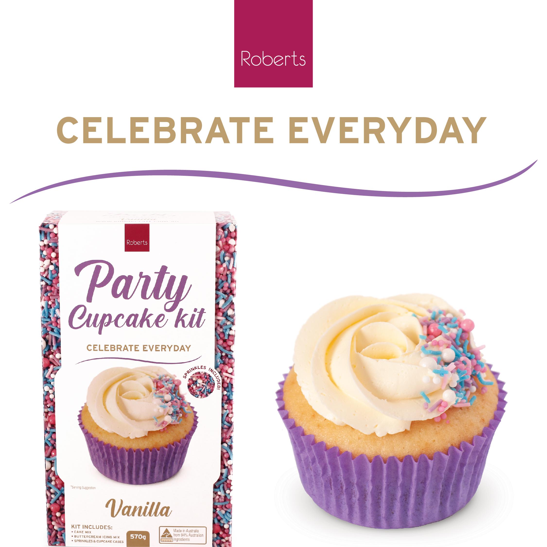 Party Cupcake Kit - Vanilla