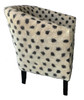"""Hand Felted Club Chair from Afghanistan ( 26"""" x 32"""")"""