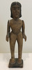 """Hand Carved Antique Figure Guatemala (3.5"""" x  10"""")"""