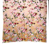 """Digital Printed Silk and Rayon Scarf Floral Pink India (31"""" x 95"""")"""