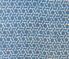 "Handmade Batik Natural  Dyed Cotton Fabric Indigo India (45"" wide) medium sky blue indigo white"